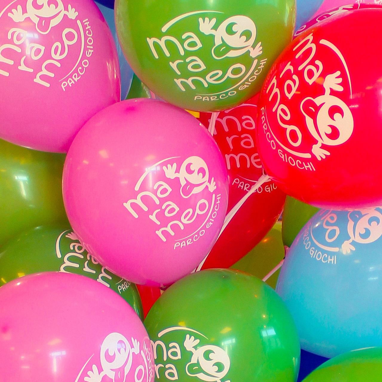 feste di compleanno palloncini colorati